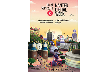 Nantes Digital Week Evénement Production économique Numérique