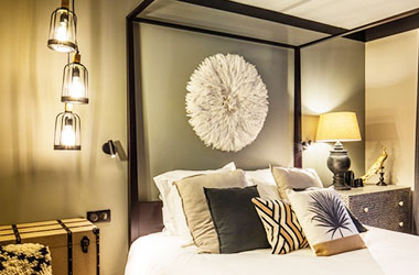 Hôtel 4 étoiles de Nantes décoration par Maison du Monde