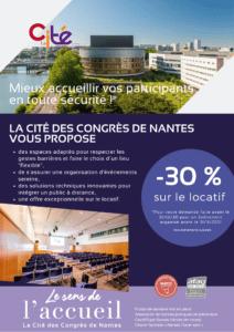 Offre événements sécuritaires La Cité des Congrès de Nantes