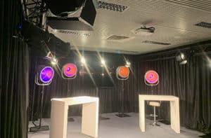 Studio TV La Cité des Congrès Nantes