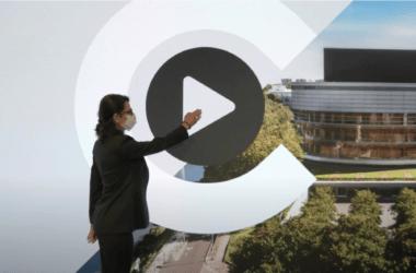 Vidéo de reprise de La Cité des Congrès de Nantes